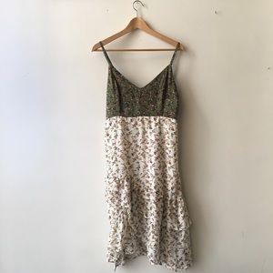 Boohoo Floral Midi Dress.